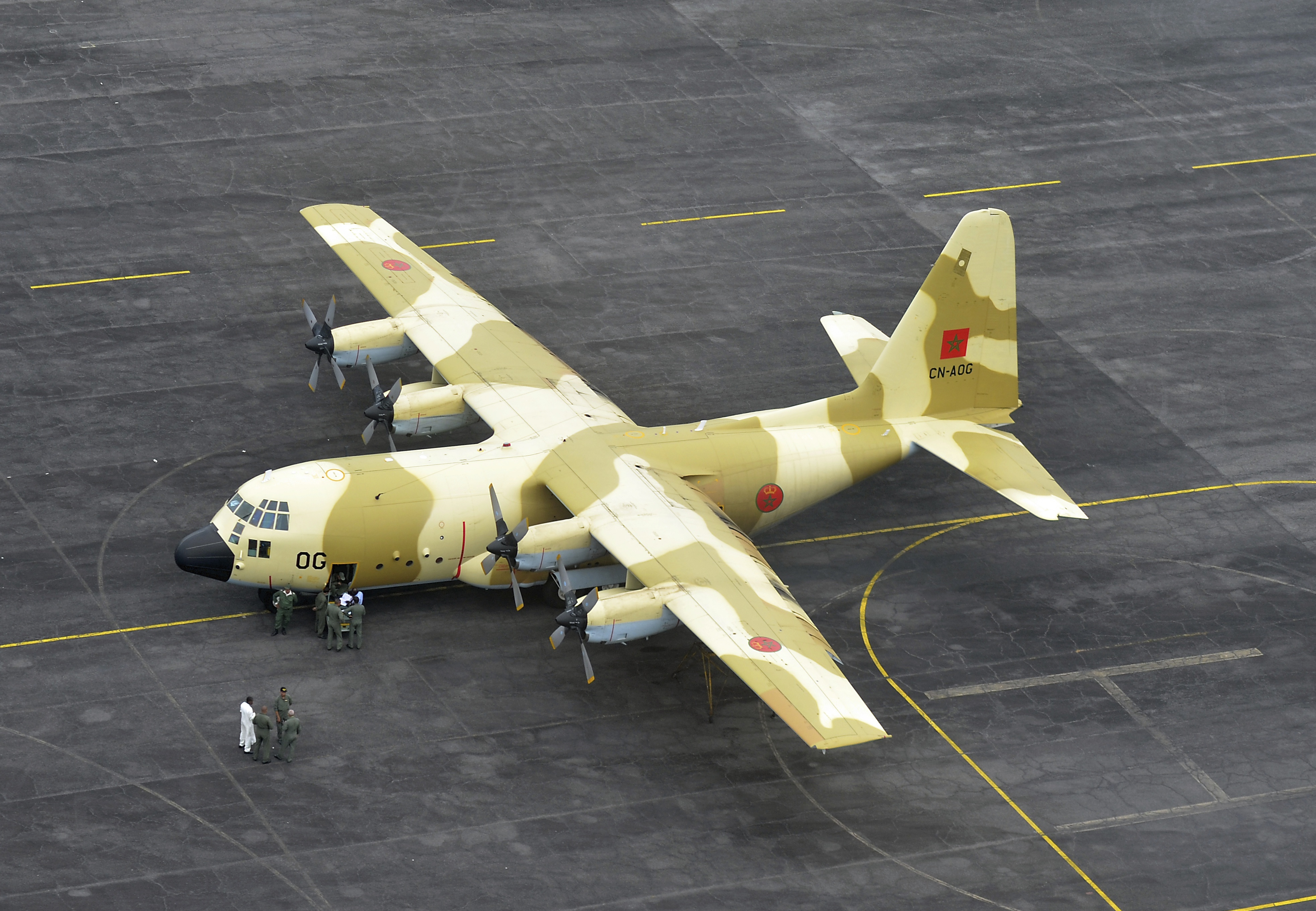 طائرات النقل العاملة بالقوات المسلحة المغربية - صفحة 2 14286353750_d583086b4b_o