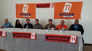 Encontro Regional do Solidariedade em Botucatu