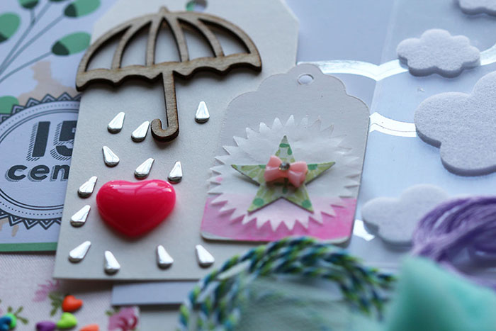 April showers scrapbook kit (5)