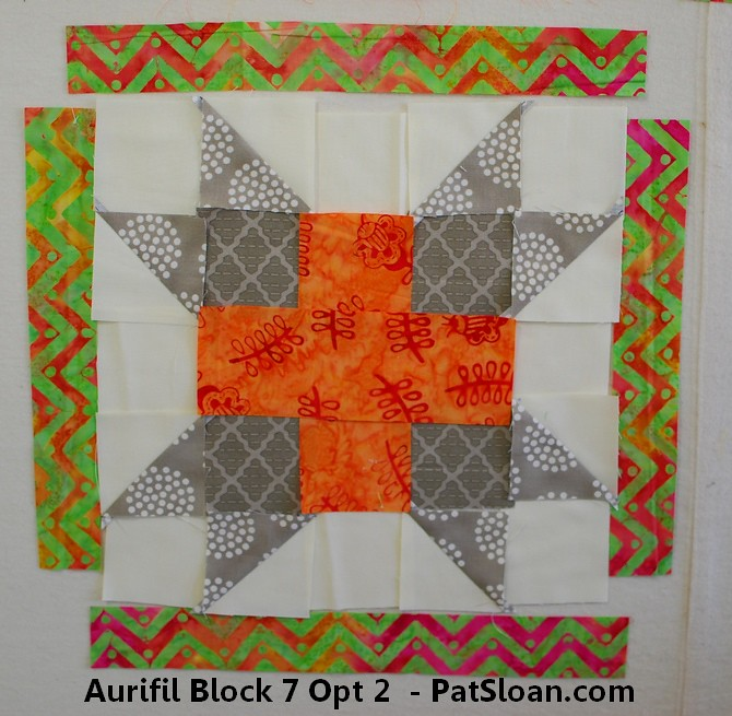 Pat Sloan 2014 aurifil jan to june opt 2