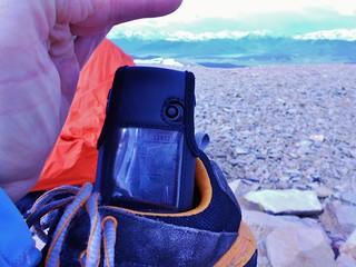 Horseshoe Mountain Elevation via GPS