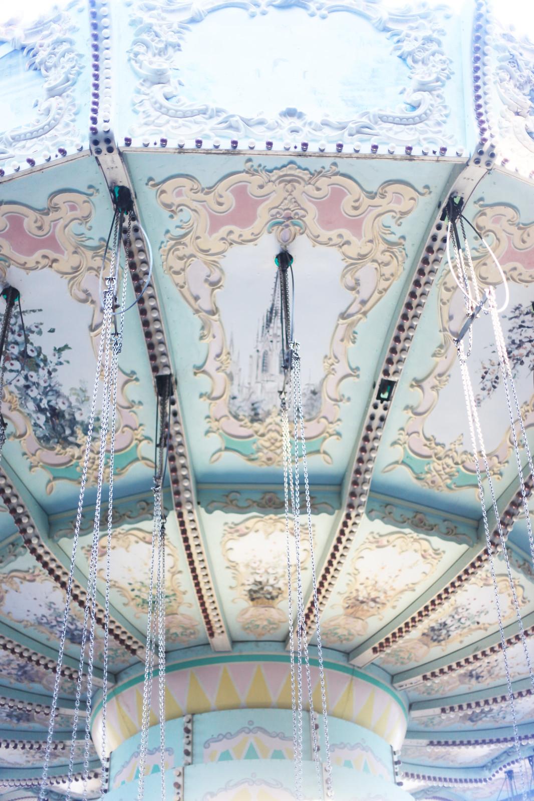 Tibidabo swings, Barcelona