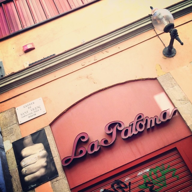 La Paloma, where they had their crazy night out. #laubergeespagnole