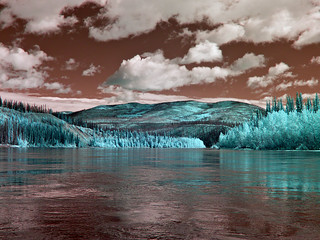 Ever Changing Riverscape - 665nm IR - Thirty Mile River Trip