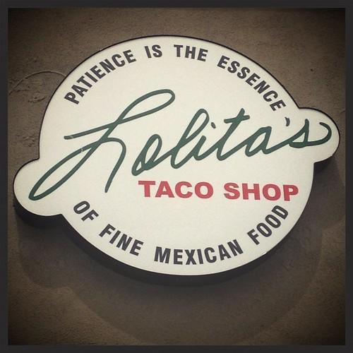 Lolita's taco shop