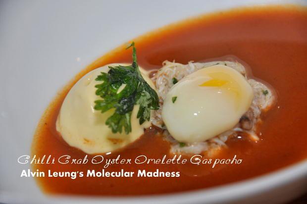Alvin Leung Molecular Madness Chiil Crab