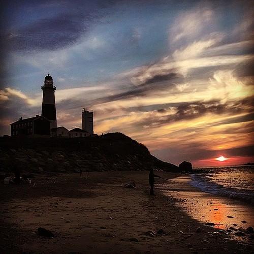 sun lighthouse square longisland squareformat montauk hefe fishman iphoneography instagramapp uploaded:by=instagram sunrisemontauk