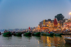 The boats of Varanasi
