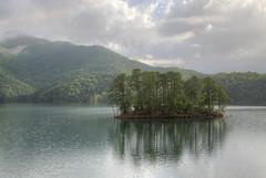 Fontana Dam Island