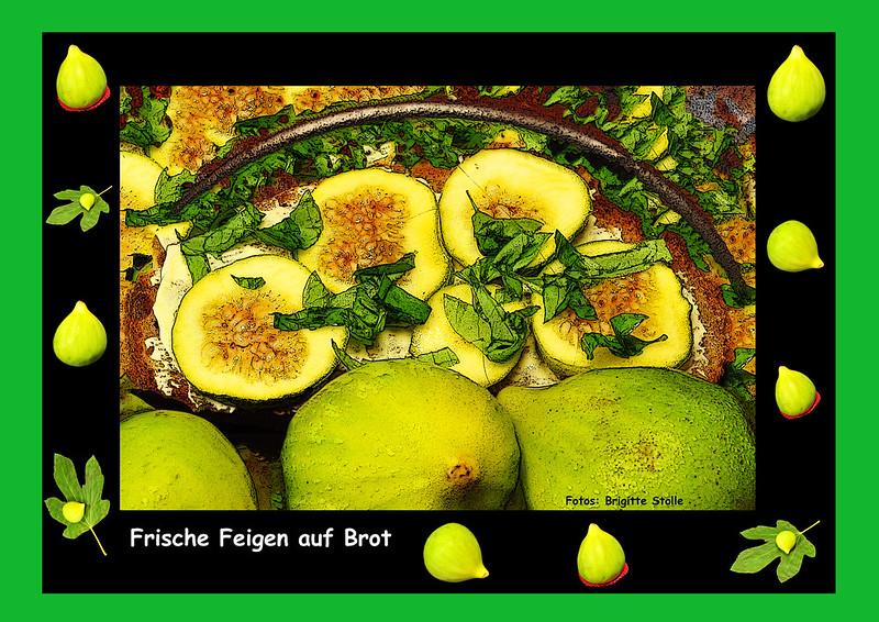 Feige Pfälzer Feigen Brot Bauernbrot Ziegenkäse Ziegenfrischkäse Frischkäse Kräuter Pfeffer Scheiben Rezept Brigitte Stolle