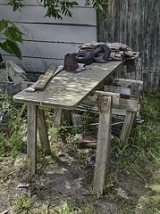 Improvised Workbench
