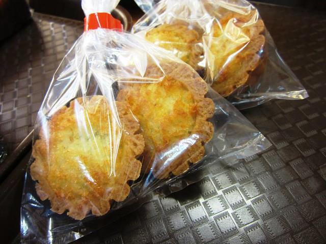 Aroma Bakery coconut tarts