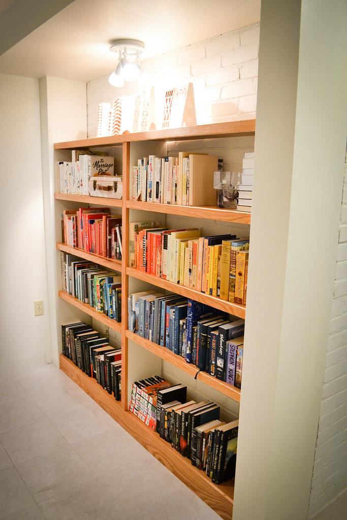 building built in bookshelves the saga things i made today - How To Make Built In Bookshelves
