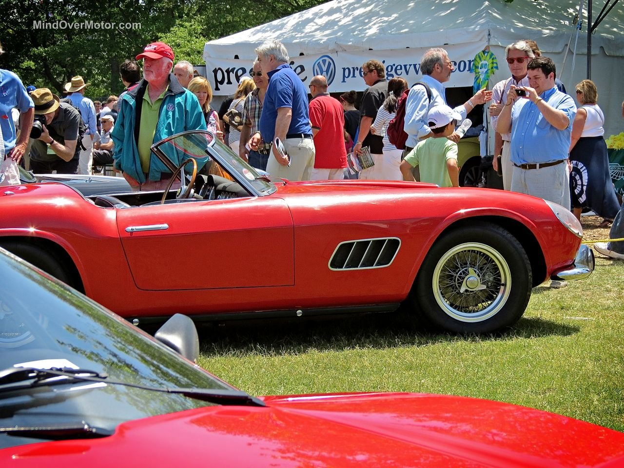 Ferrari 250 California at Greenwich 2014