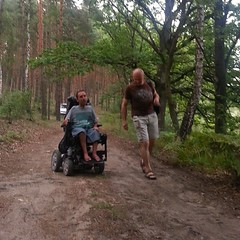 In one week of Poland; Ive gone offroad by car and wheelchair, swam in a lake and used the exciting Schumann platform for exercise