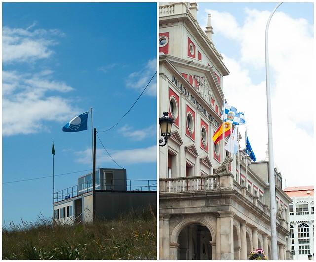 Tesoro Banderas collage