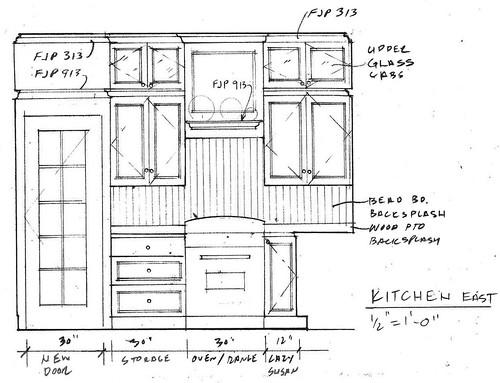 Elevation - Kitchen East