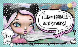 Oddball Art Stamps