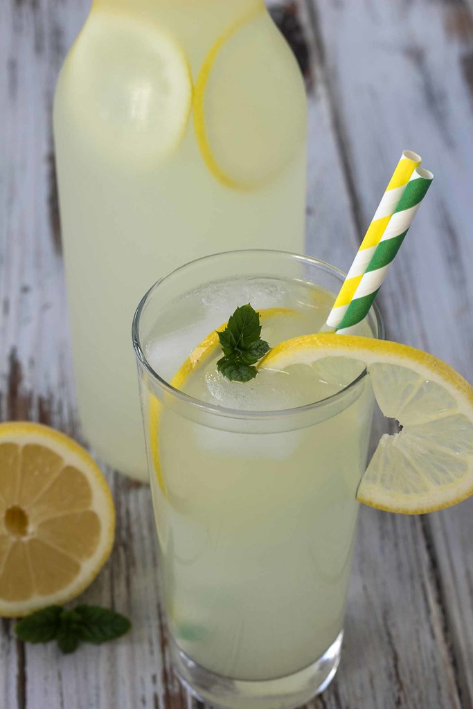 Recipe for Homemade Lemonade