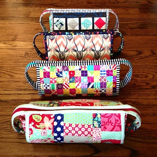 Four of seven sew together bags