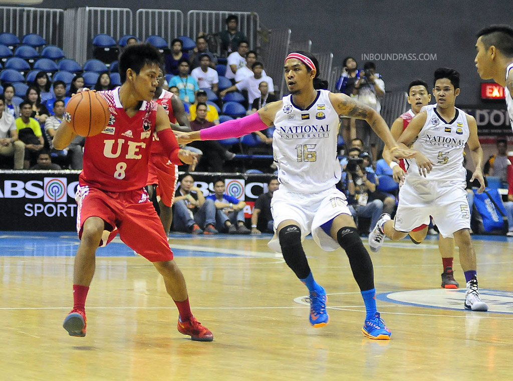 UAAP Season 77: UE Red Warriors vs. NU Bulldogs, Aug. 3