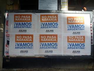 No pasa najanra - Vamos Argentina!