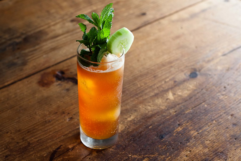 Pimm's Cup Cocktail
