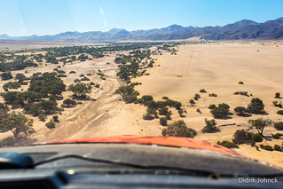 Landing at Puros Desert Airstrip
