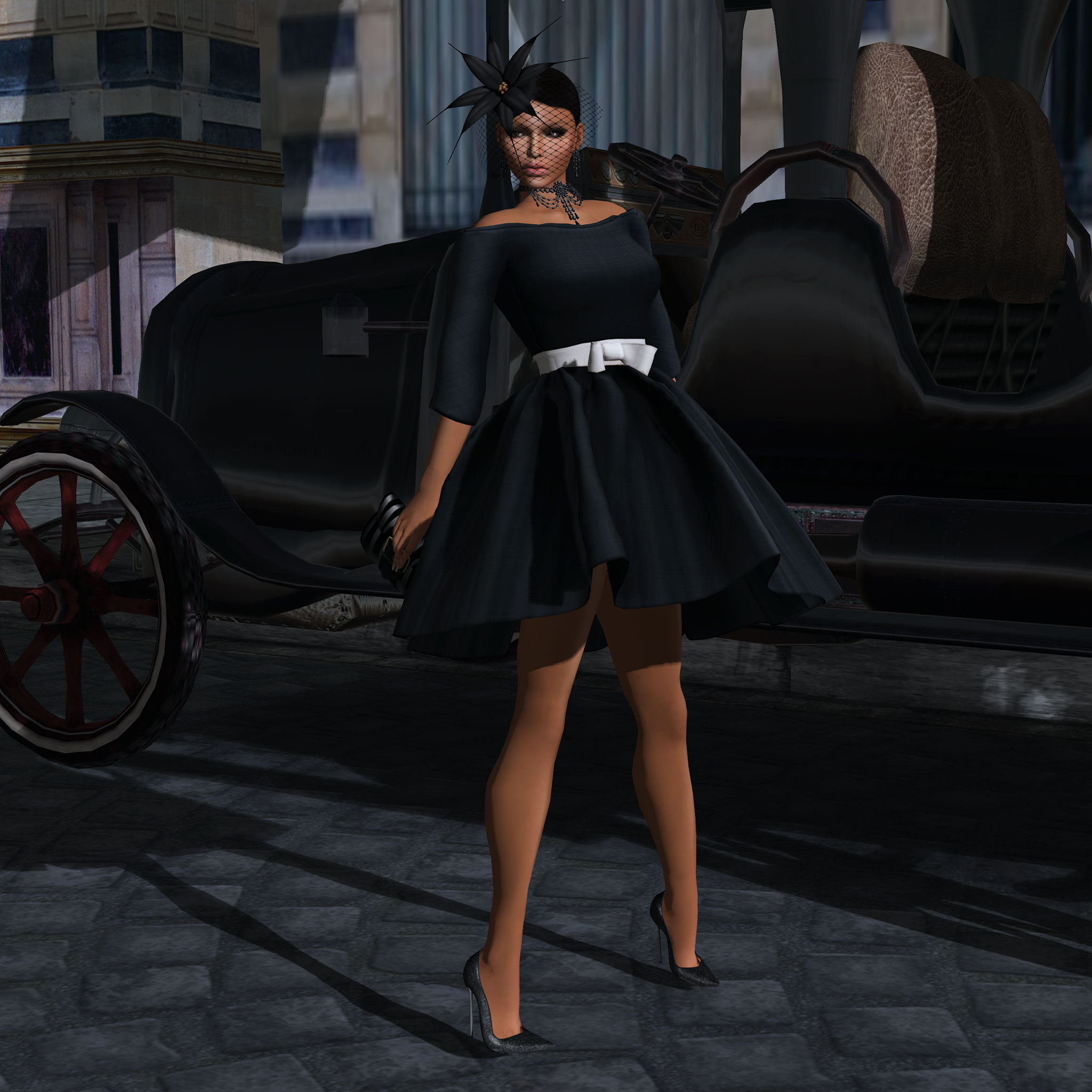 Black Fashion Fair- Look 3