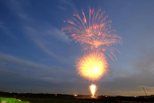 Toride Tone-River Fireworks Festival 07