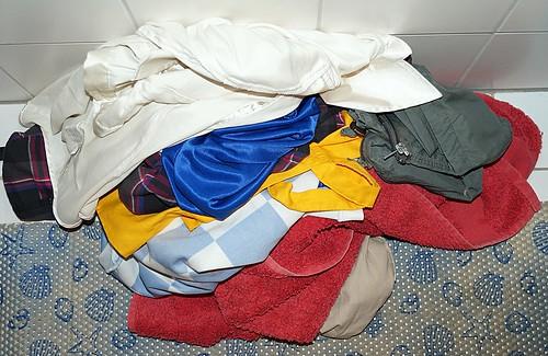 Wäschehaufen