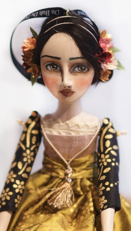 Art Doll Louria by Christine Alvarado