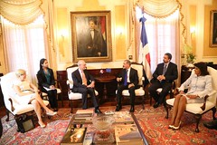 President Van Rompuy visit to the Dominican Republic