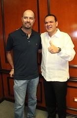 """Se reúne Sergio Torres con las """"Glorias del Deporte"""" mexicano"""