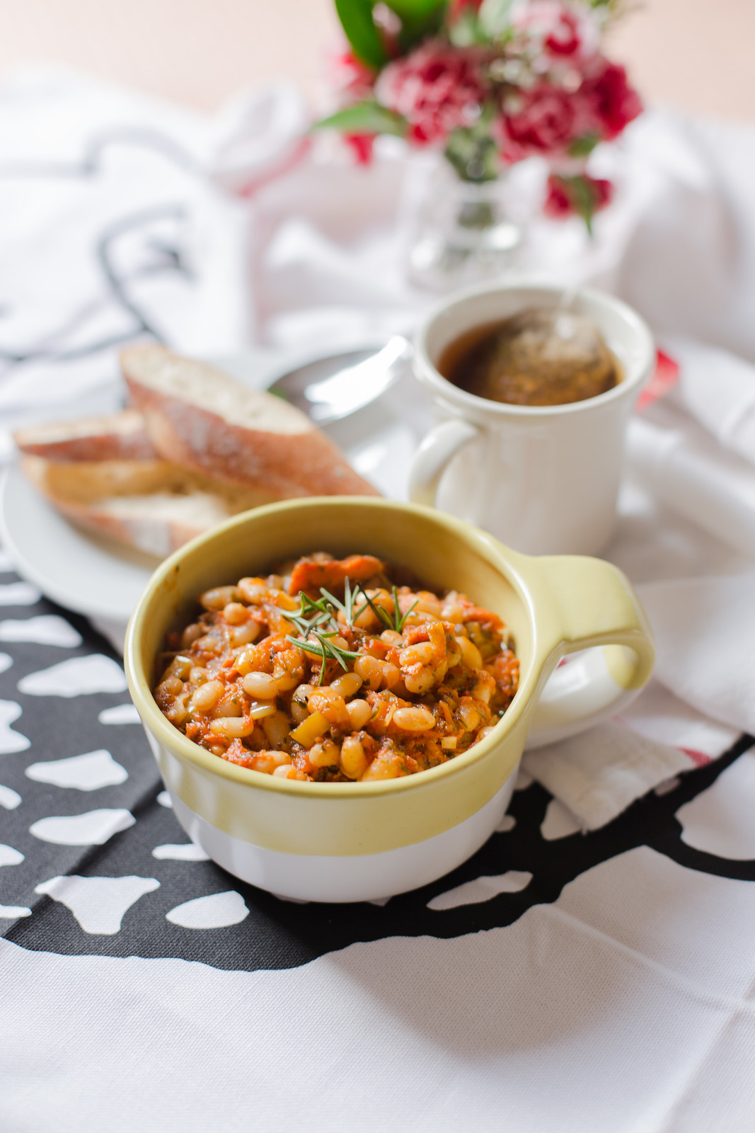 Harissa Spiced Great Northern Beans