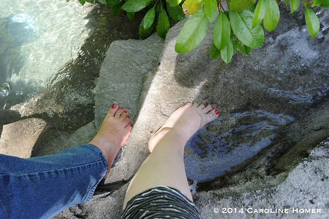 cool feet