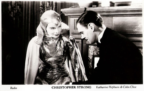 Colin Clive and Katharine Hepburn in Christopher Strong