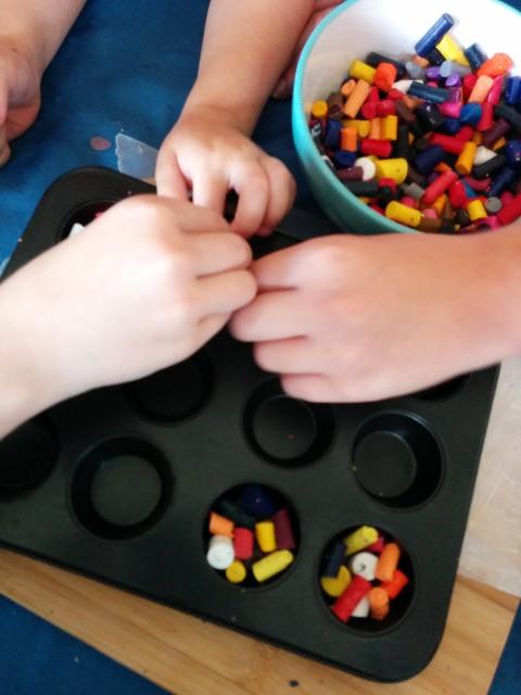 Making crayons