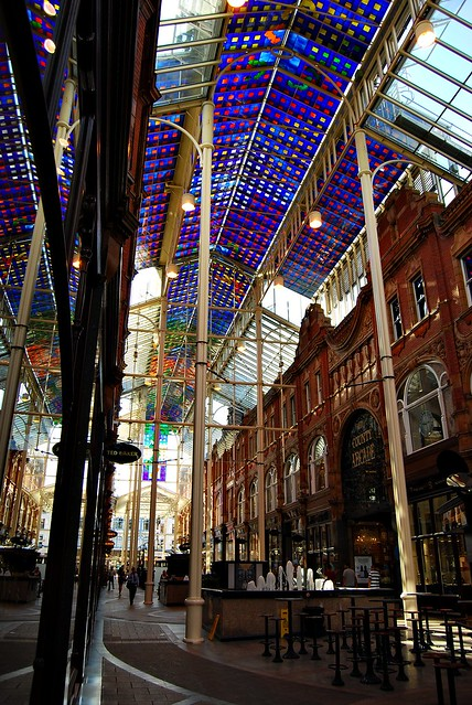 The County Arcade in Leeds