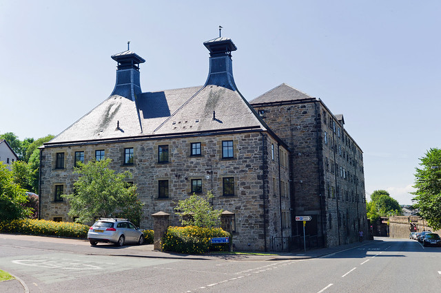 St. Magdalele's Distillery Malting Barn and Double Kiln (Former)
