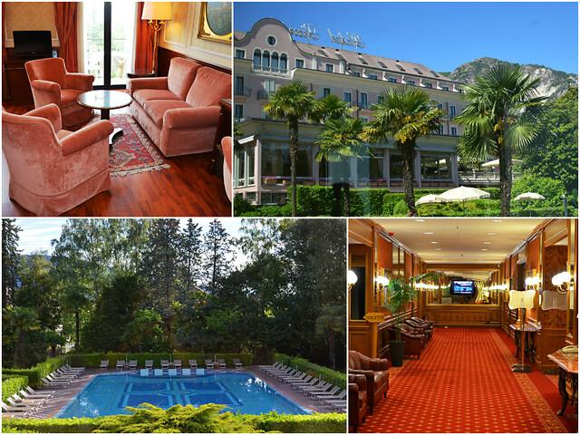 Montage 1, Hotel Simplon, Baveno, Lake Maggiore, Italy