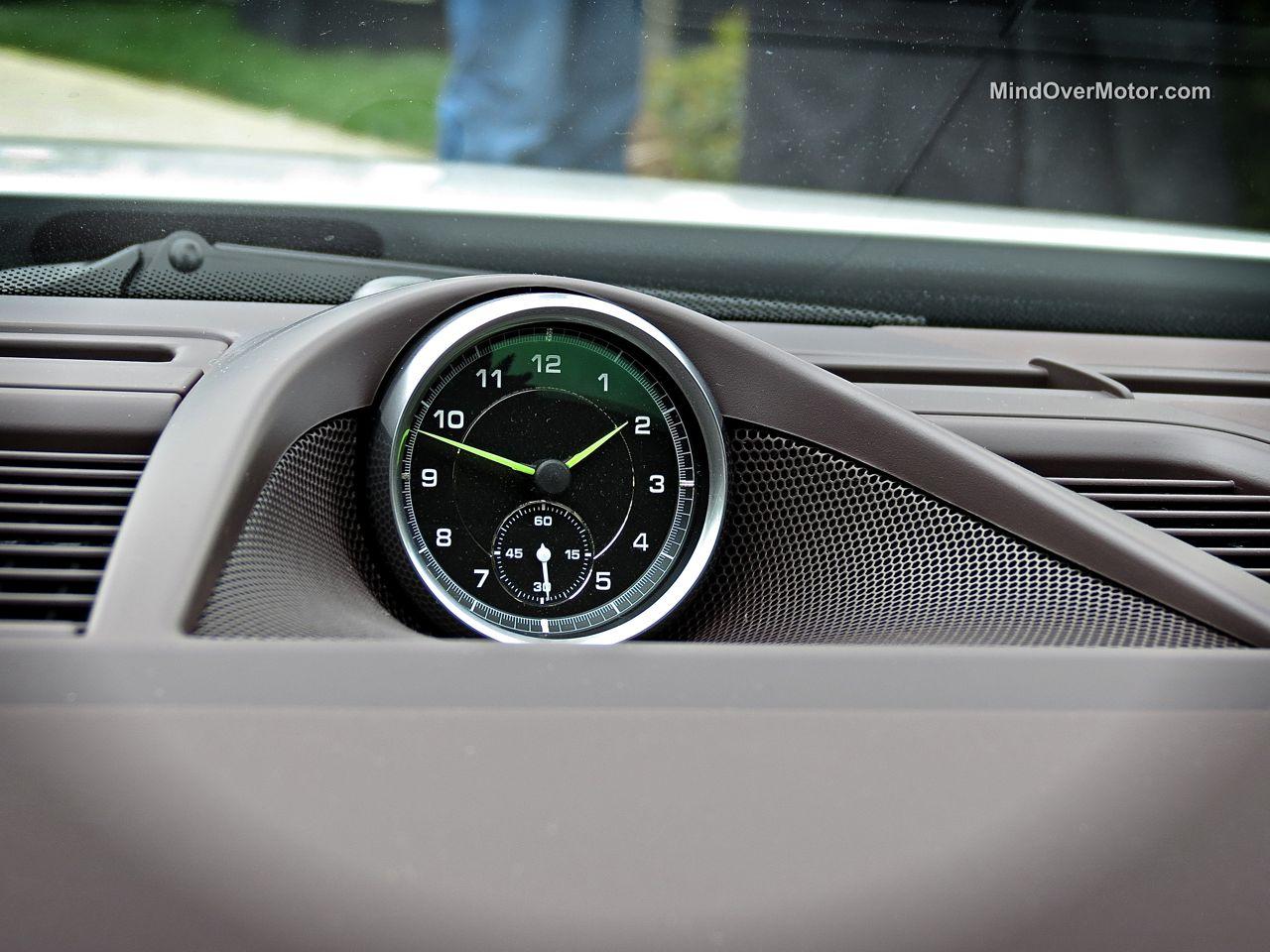 Porsche Panamera S E-Hybrid Sport Chrono Clock