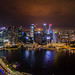 Singapore from marina bay sands. by patrick_rooke