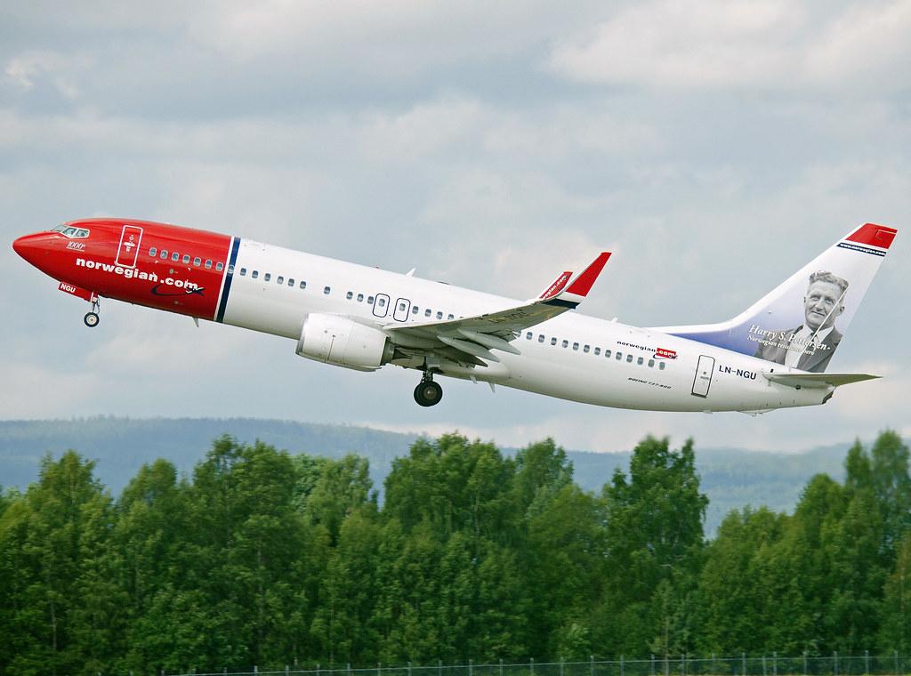 LN-NGU - B738 - Norwegian
