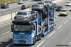 Mercedes-Benz Actros 6x2 Car Transporter - W28 ECM - ECM - M1 J10 Luton - Steven Gray - IMG_7502