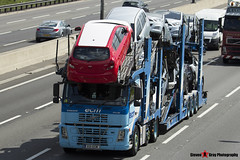 Volvo FM12 380 6x2 Car Transporter - V21 ECM - ECM - M1 J10 Luton - Steven Gray - IMG_9352