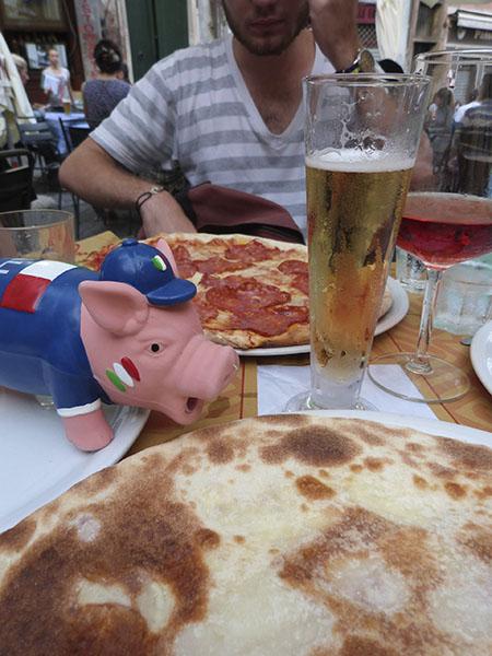le cochon a faim