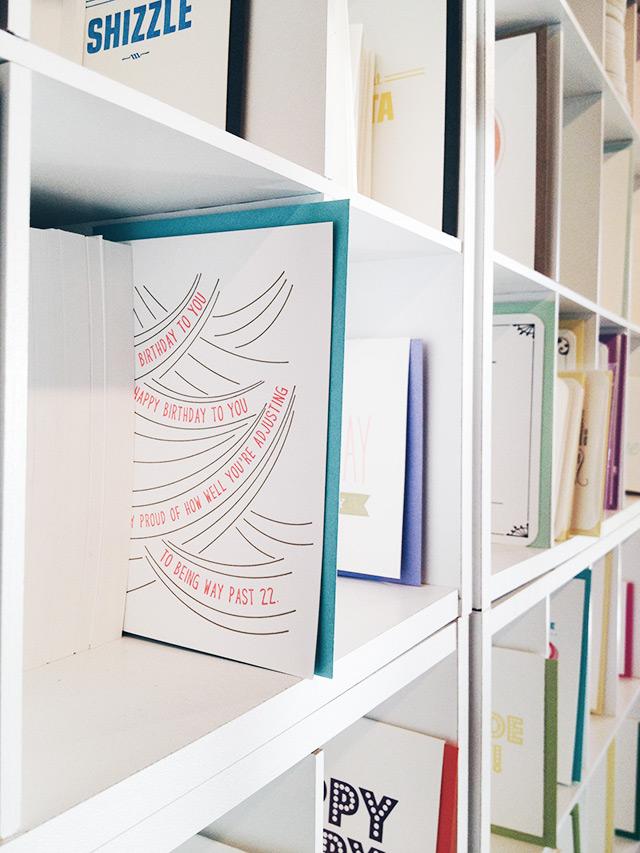 seattle bloggers unite, letterpress cards, farewell paperie