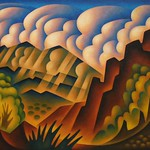 Sushe Felix; Changing Winds; Acrylic on panel; 36 x 48; Private Collection -