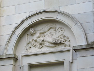 Marble House classical frieze